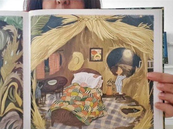 """Lettura per bambini del libro """"Il Piccolo Giardiniere"""" di Emily Heghes"""