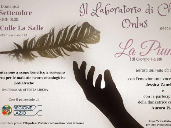 """""""La Piuma"""" di Giorgio Faletti"""