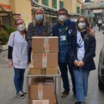 Donazione dei libri all'Ospedale Pediatrico Bambino Gesù di Roma